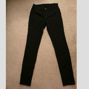 Uniqlo Black Jeggings Denim Leggings Size Small